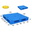 T7-双面平板型塑料托盘