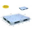 T11-双面平板型塑料托盘