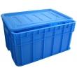 X169塑料箱_带盖塑料物流箱